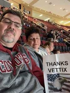 DENIS attended Arizona Coyotes vs. Anaheim Ducks - NHL Preseason on Sep 21st 2019 via VetTix