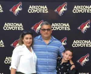 Manuel attended Arizona Coyotes vs. Anaheim Ducks - NHL Preseason on Sep 21st 2019 via VetTix