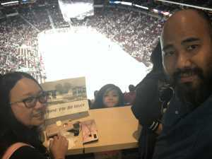 Jerome attended Arizona Coyotes vs. Anaheim Ducks - NHL Preseason on Sep 21st 2019 via VetTix