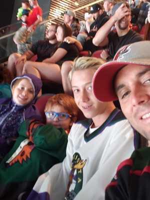 michael attended Arizona Coyotes vs. Anaheim Ducks - NHL Preseason on Sep 21st 2019 via VetTix