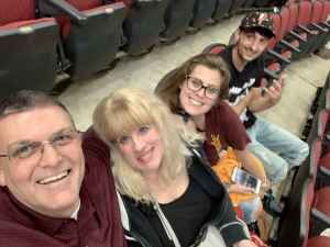 Edward attended Arizona Coyotes vs. Anaheim Ducks - NHL Preseason on Sep 21st 2019 via VetTix