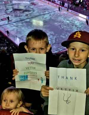 James attended Arizona Coyotes vs. Anaheim Ducks - NHL Preseason on Sep 21st 2019 via VetTix