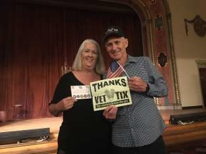 William attended MGM in Concert, A Golden Era Musical Revue on Oct 19th 2019 via VetTix