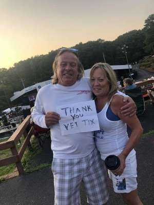Ted attended Heart and Joan Jett & the Blackhearts: Love Alive Tour on Sep 26th 2019 via VetTix