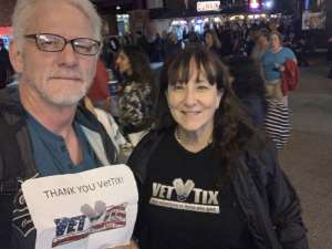 CindyEW attended Heart and Joan Jett & the Blackhearts: Love Alive Tour on Sep 26th 2019 via VetTix