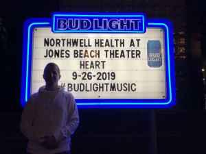 Jeremy B. attended Heart and Joan Jett & the Blackhearts: Love Alive Tour on Sep 26th 2019 via VetTix