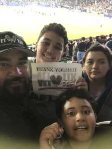 Jose attended LA Galaxy vs. Sporting Kansas City - MLS on Sep 15th 2019 via VetTix