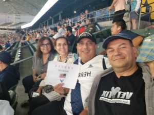 Mehran attended LA Galaxy vs. Sporting Kansas City - MLS on Sep 15th 2019 via VetTix