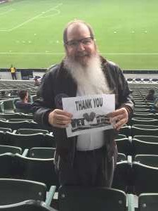 Jeffrey attended LA Galaxy vs. Sporting Kansas City - MLS on Sep 15th 2019 via VetTix
