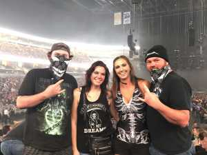 Cody attended Disturbed: Evolution Tour on Sep 22nd 2019 via VetTix