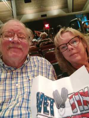 David attended Coat of Many Colors: the Music of Dolly Parton on Sep 21st 2019 via VetTix