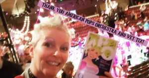 Trisha attended Coat of Many Colors: the Music of Dolly Parton on Sep 21st 2019 via VetTix