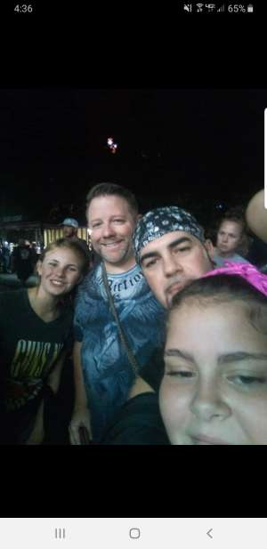 Kelsey attended ZZ Top - 50th Anniversary Tour on Oct 6th 2019 via VetTix