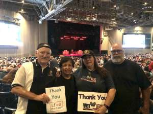 Jandy attended ZZ Top - 50th Anniversary Tour on Oct 6th 2019 via VetTix