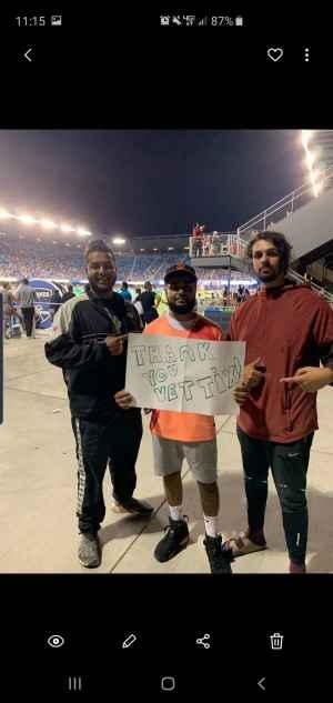 Roy attended San Jose Earthquakes vs. Philadelphia Union - MLS on Sep 25th 2019 via VetTix