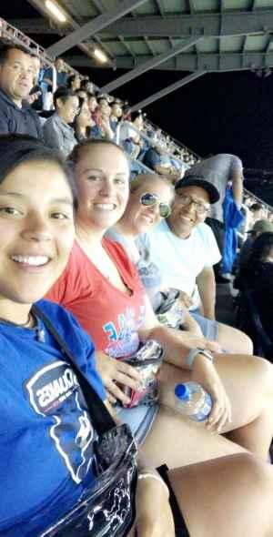 Denise attended San Jose Earthquakes vs. Philadelphia Union - MLS on Sep 25th 2019 via VetTix