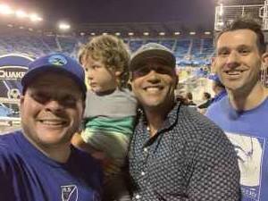 Anthony attended San Jose Earthquakes vs. Philadelphia Union - MLS on Sep 25th 2019 via VetTix