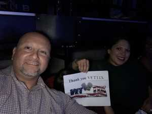 Ernesto attended Carrie Underwood - the Cry Pretty Tour on Sep 21st 2019 via VetTix