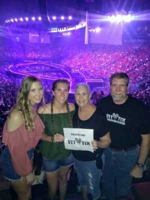 Will Rek attended Carrie Underwood - the Cry Pretty Tour on Sep 21st 2019 via VetTix