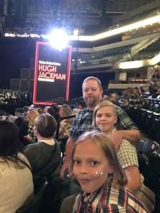 Jeff attended Hugh Jackman: the Man. The Music. The Show. on Oct 12th 2019 via VetTix