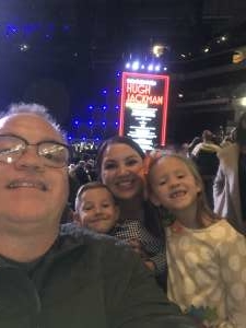 Paul attended Hugh Jackman: the Man. The Music. The Show. on Oct 12th 2019 via VetTix