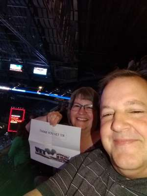 William attended Hugh Jackman: the Man. The Music. The Show. on Oct 12th 2019 via VetTix