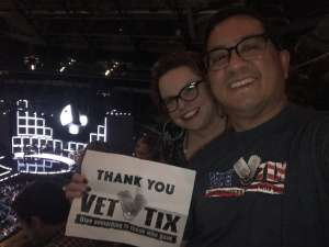 Oliver attended Hugh Jackman: the Man. The Music. The Show. on Oct 12th 2019 via VetTix