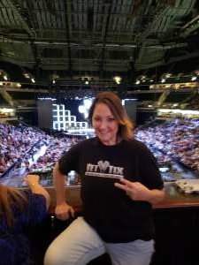 Becky attended Hugh Jackman: the Man. The Music. The Show. on Oct 12th 2019 via VetTix