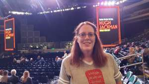 Stacy attended Hugh Jackman: the Man. The Music. The Show. on Oct 12th 2019 via VetTix