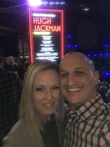 Nathan attended Hugh Jackman: the Man. The Music. The Show. on Oct 12th 2019 via VetTix