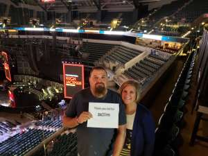 Chad attended Hugh Jackman: the Man. The Music. The Show. on Oct 12th 2019 via VetTix