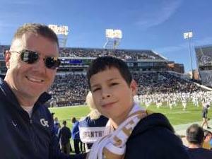 Chris attended Georgia Tech - Pittsburgh - Football on Nov 2nd 2019 via VetTix