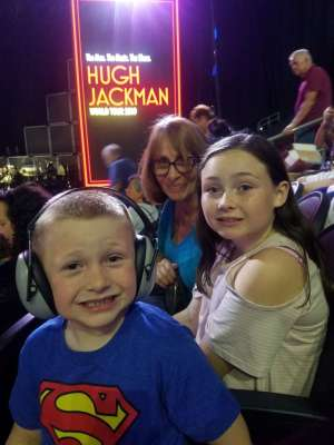 Stephen attended Hugh Jackman: the Man. The Music. The Show on Oct 2nd 2019 via VetTix