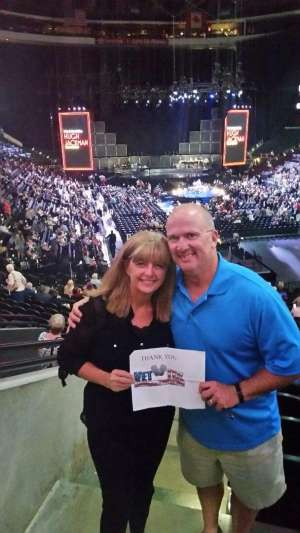 EDWARD attended Hugh Jackman: the Man. The Music. The Show on Oct 2nd 2019 via VetTix