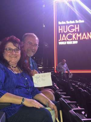 Matthew attended Hugh Jackman: the Man. The Music. The Show on Oct 2nd 2019 via VetTix