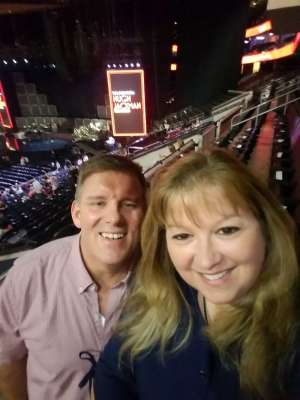 CURTIS attended Hugh Jackman: the Man. The Music. The Show on Oct 2nd 2019 via VetTix