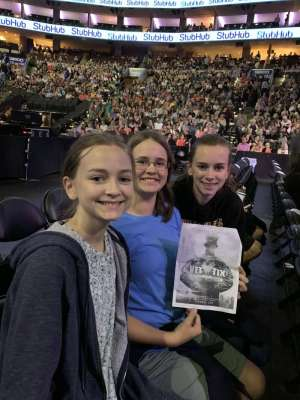 Steven attended Hugh Jackman: the Man. The Music. The Show on Oct 2nd 2019 via VetTix