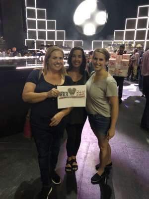 Frank attended Hugh Jackman: the Man. The Music. The Show on Oct 2nd 2019 via VetTix