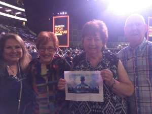 Jacob attended Hugh Jackman: the Man. The Music. The Show on Oct 2nd 2019 via VetTix