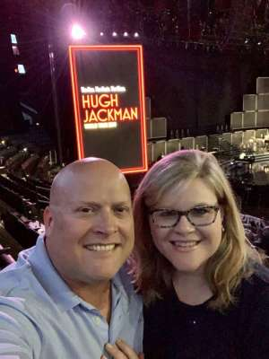 Patrick attended Hugh Jackman: the Man. The Music. The Show on Oct 2nd 2019 via VetTix