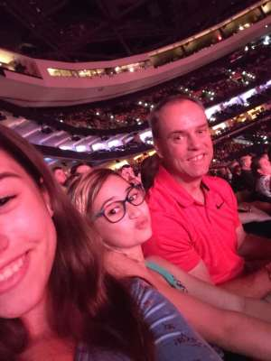 Paul attended Hugh Jackman: the Man. The Music. The Show on Oct 2nd 2019 via VetTix