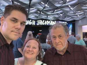 PAUL attended Hugh Jackman: the Man. The Music. The Show. on Oct 15th 2019 via VetTix