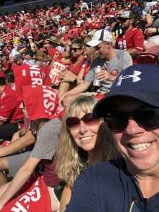 Timothy attended San Francisco 49ers vs. Pittsburgh Steelers - NFL on Sep 22nd 2019 via VetTix