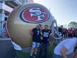 Edward attended San Francisco 49ers vs. Pittsburgh Steelers - NFL on Sep 22nd 2019 via VetTix