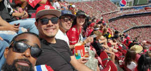 NPW attended San Francisco 49ers vs. Pittsburgh Steelers - NFL on Sep 22nd 2019 via VetTix