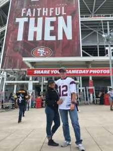 Keith attended San Francisco 49ers vs. Pittsburgh Steelers - NFL on Sep 22nd 2019 via VetTix
