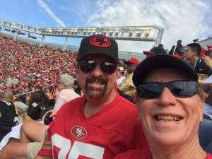 Ron attended San Francisco 49ers vs. Pittsburgh Steelers - NFL on Sep 22nd 2019 via VetTix
