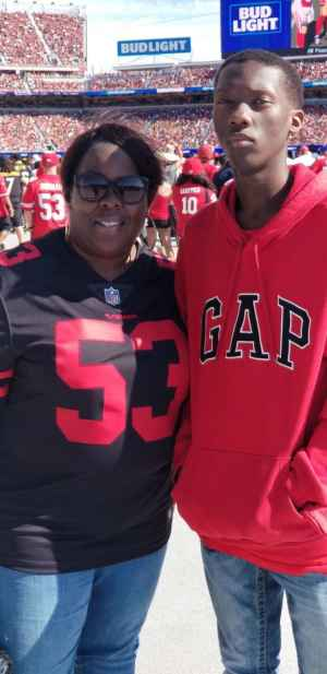 Malcolm attended San Francisco 49ers vs. Pittsburgh Steelers - NFL on Sep 22nd 2019 via VetTix