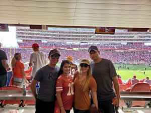 Amanda attended San Francisco 49ers vs. Pittsburgh Steelers - NFL on Sep 22nd 2019 via VetTix