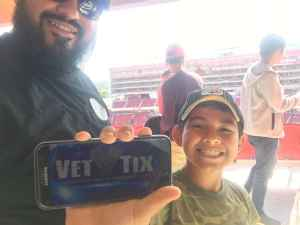 Rosalio attended San Francisco 49ers vs. Pittsburgh Steelers - NFL on Sep 22nd 2019 via VetTix